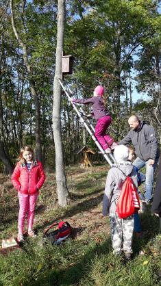 Sázení stromů na Kosíři