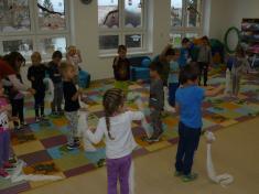 Projektový den IRIS - Lesní dopoledne (třída Motýlků)