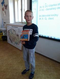 Prezentace přečtených knih ve 4. třídě
